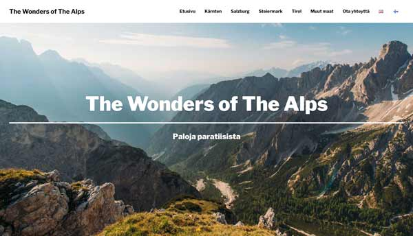The Wonders of The Alps